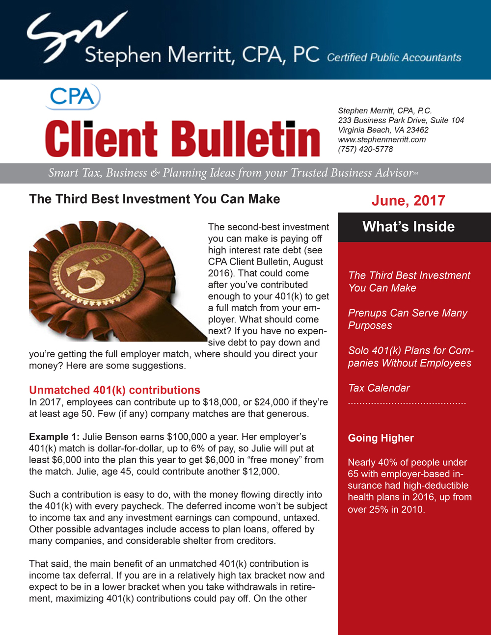 june 2017 cpa news